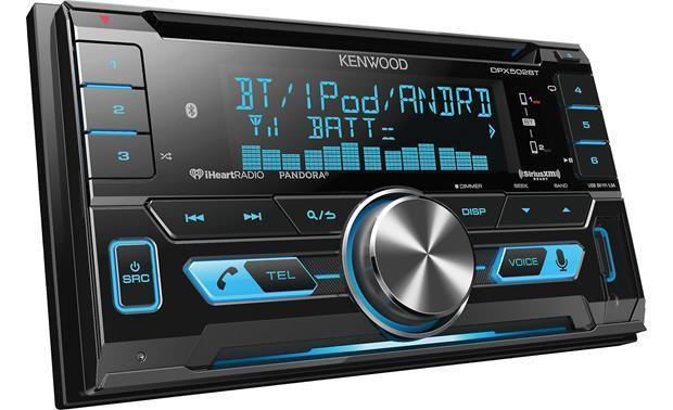 Kenwood DPX502BT - Bluetooth Car Stereo w/ Pandora Support & iPod  Integration